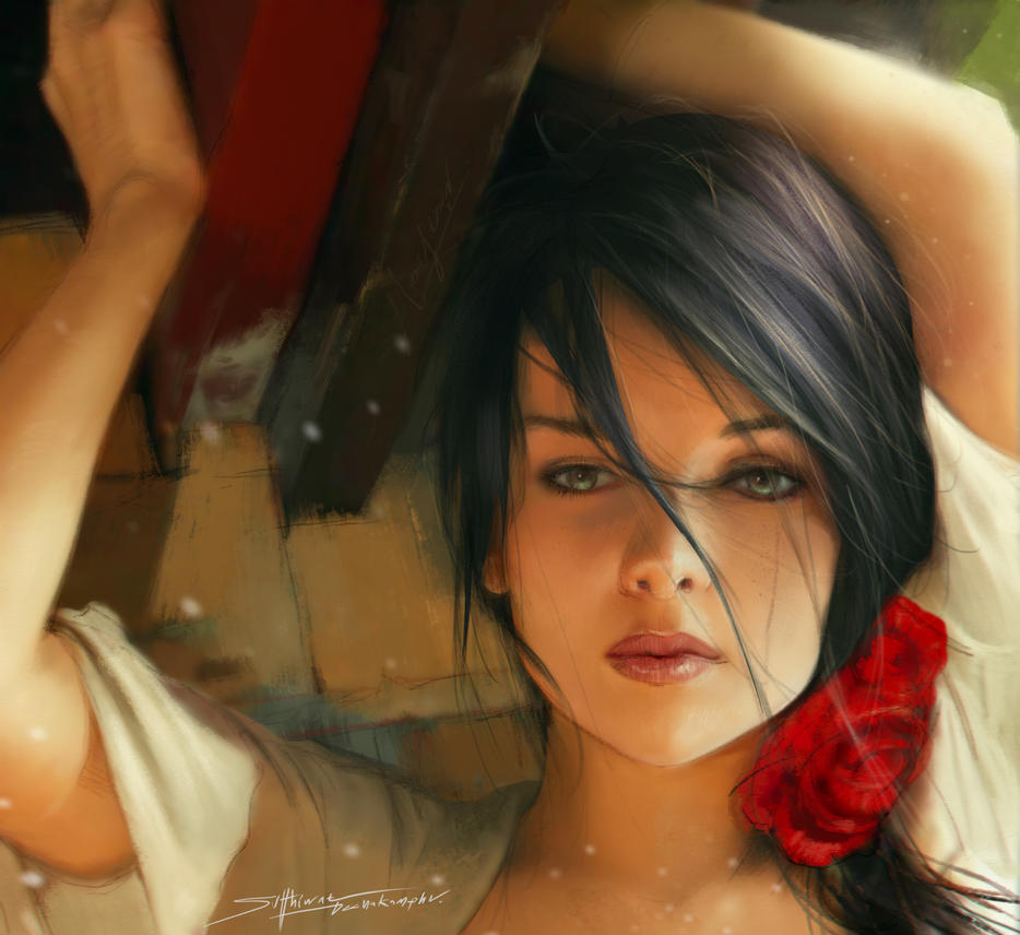 Girl 002 by TheRafa
