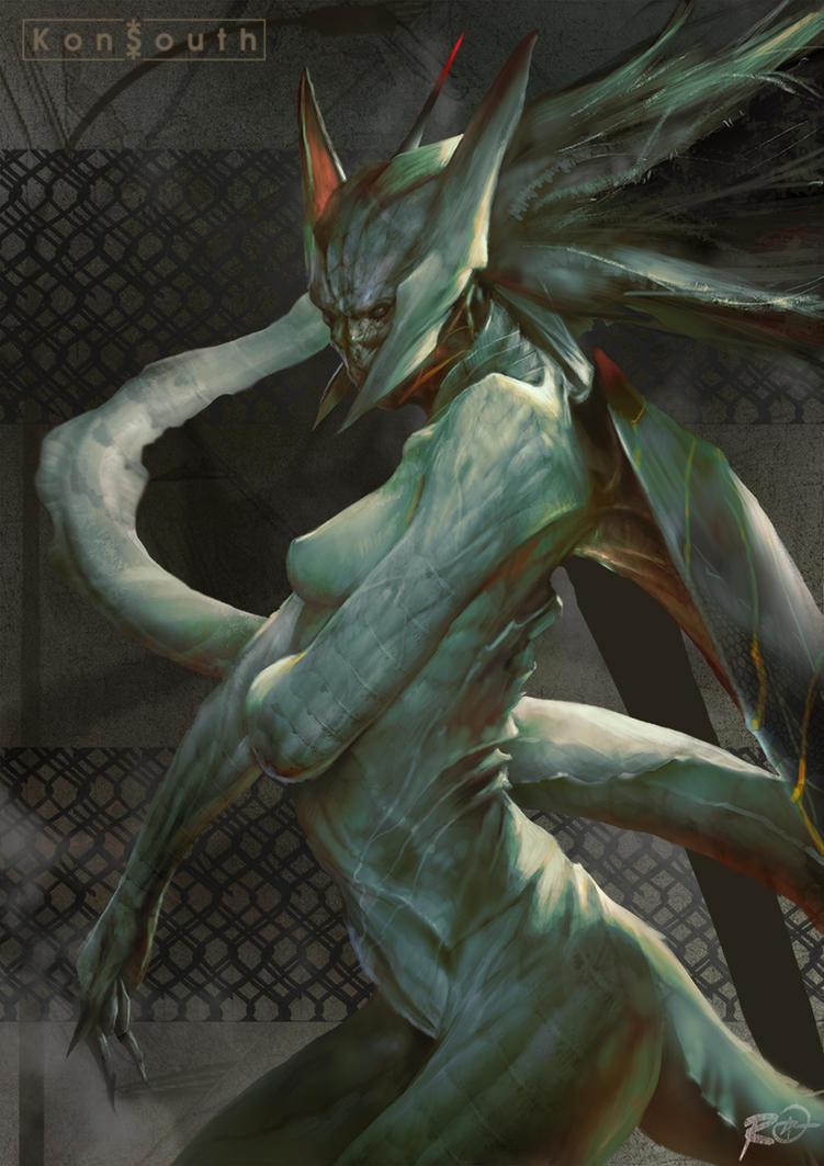 The Creature by TheRafa