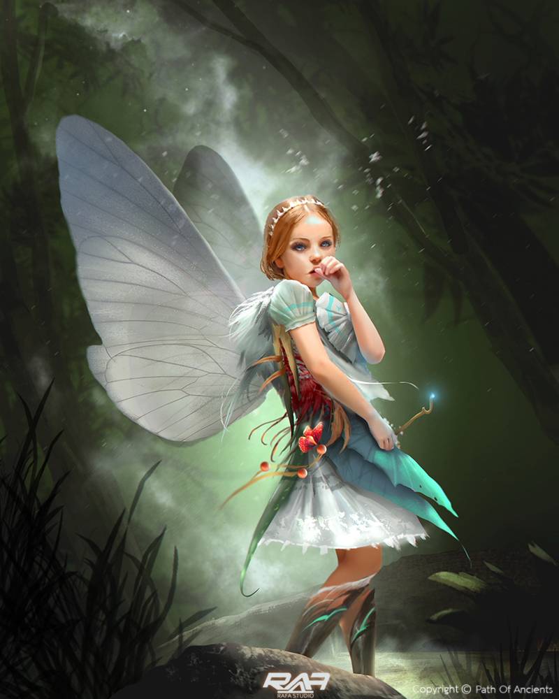 Have hit Fantasy fairy art and