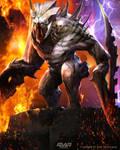Lava commander