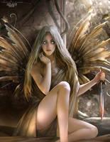 Dry leaf Fairy by TheRafa