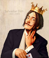 Salvador Dali by TheRafa