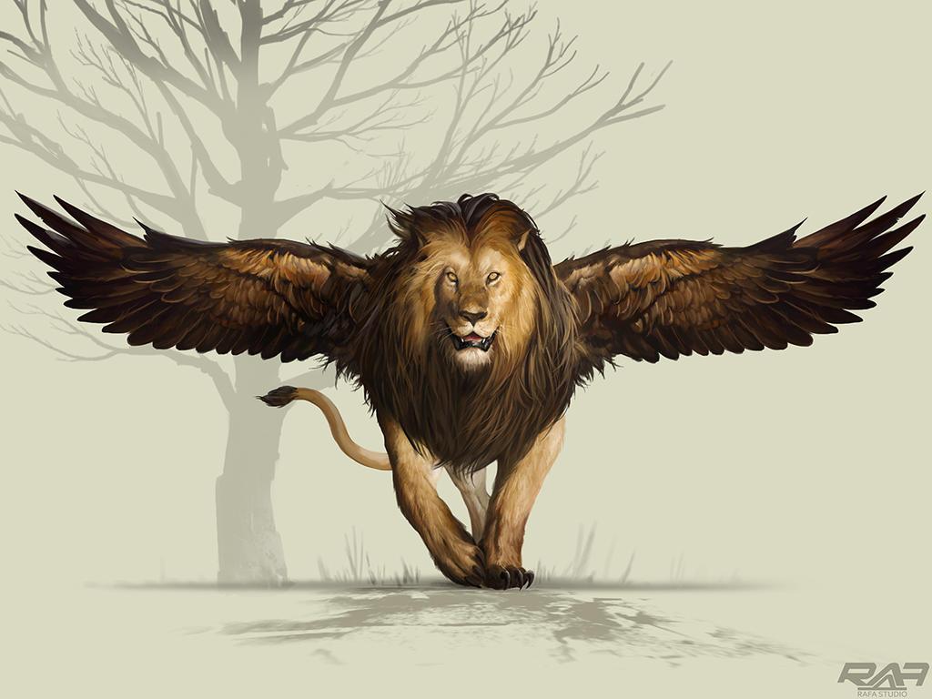 Fly lion by TheRafa