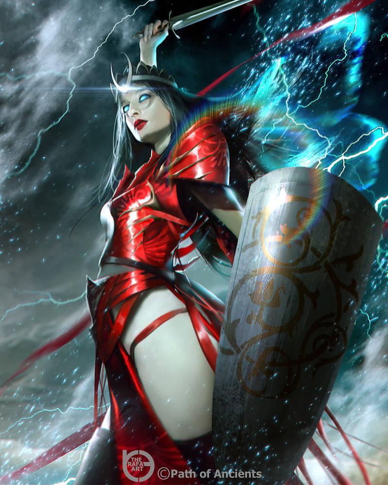 Red Fairy by TheRafa