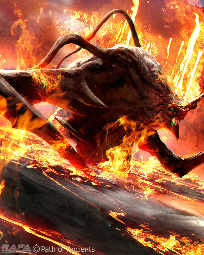 Fire Monster by TheRafa