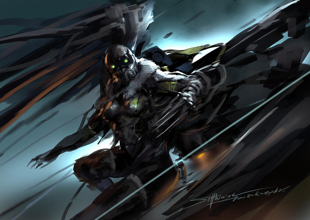 Vulture speed painting by TheRafa