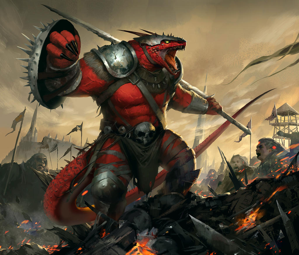 Shielded Dragon Leader by TheRafa