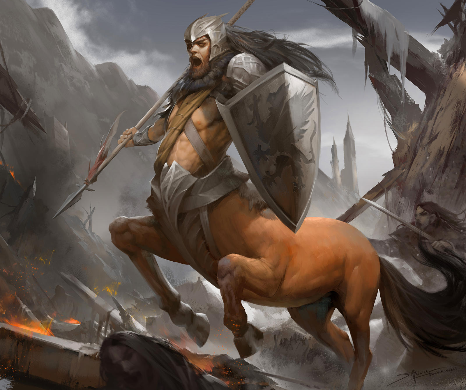 Centaur by TheRafa