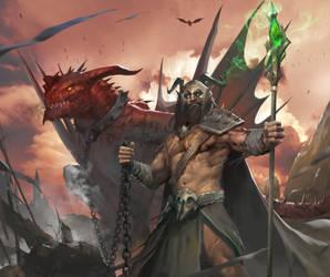 Dragon Leader by TheRafa