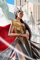 Princess of Titan by TheRafa