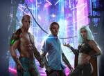 Cyberpunk Trio