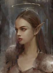 Angel's portrait