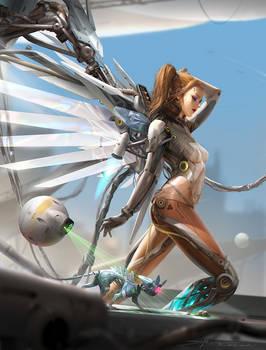 [NFT] Cyberpunk angel #000.1