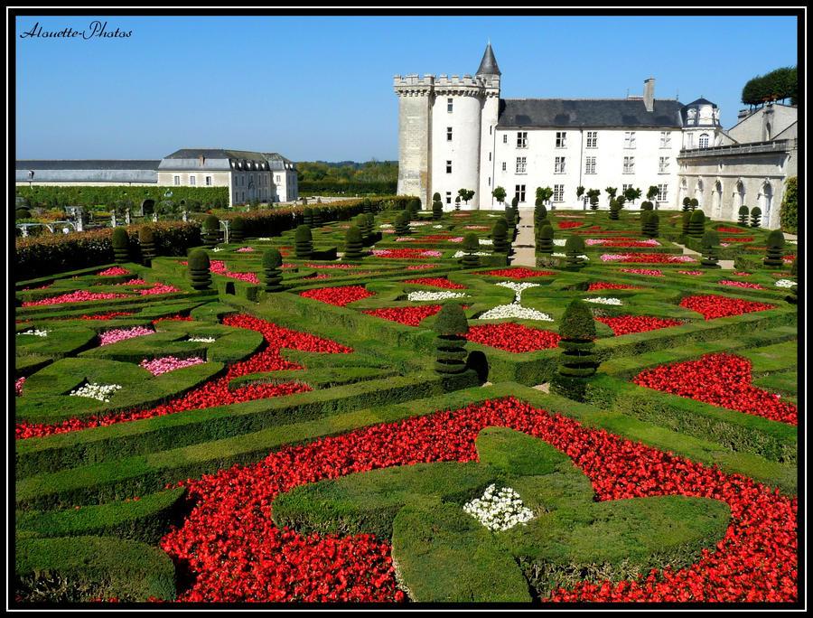 Chateau de Villandry by Alouette-Photos