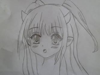 devil girl or something xD by KillHannahFan123