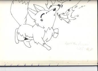 a cute fox xDxD by KillHannahFan123