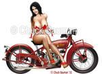 Denise Milani Biker Babe Pinup