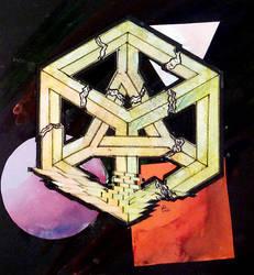 Cubistic Destruction of a Rational Mind
