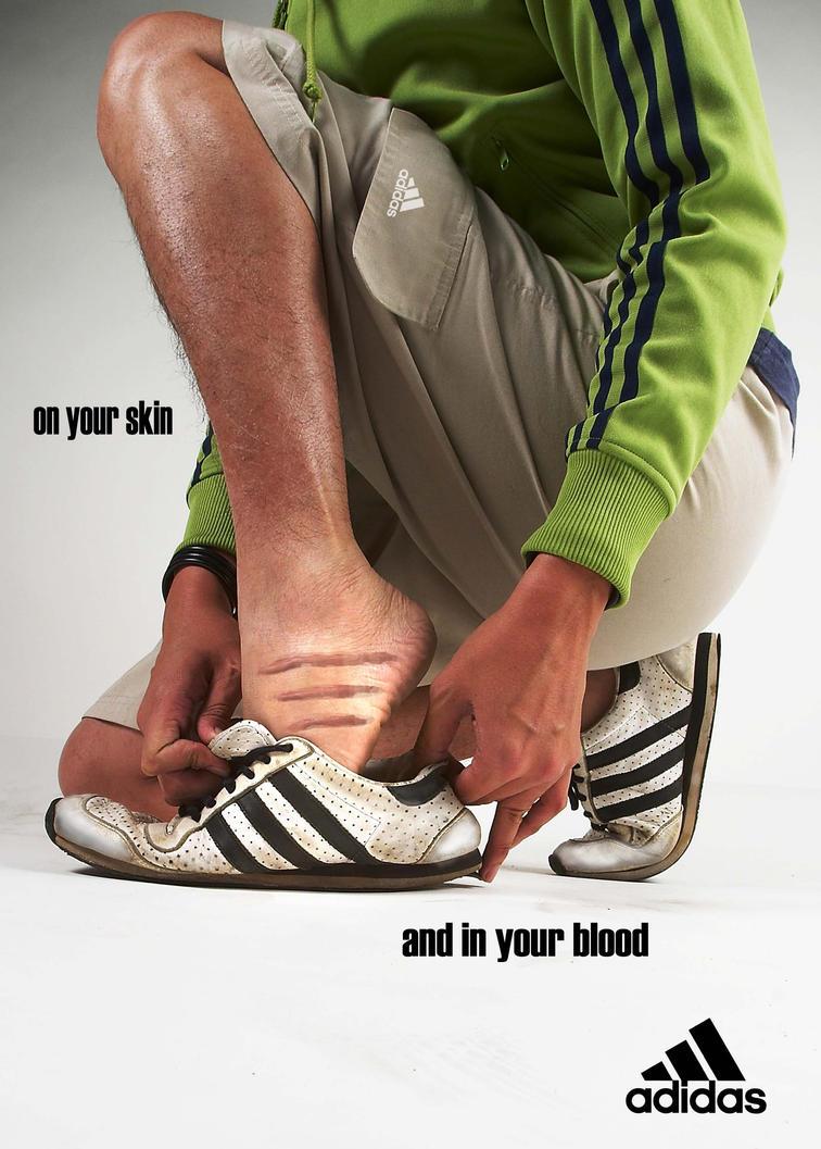 Adidas Scar by nivellism