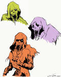the blight doodles