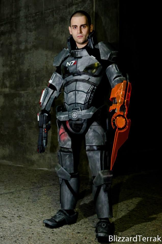 Commander Shepard Mass Effect 3 By Commander Snake On
