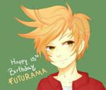 Happy Birthday Futurama !