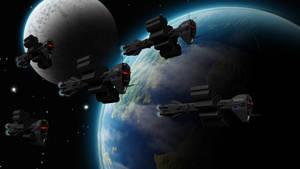 Earth Alliance Fleet reworked