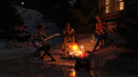 Girls night out by SharonAgathon
