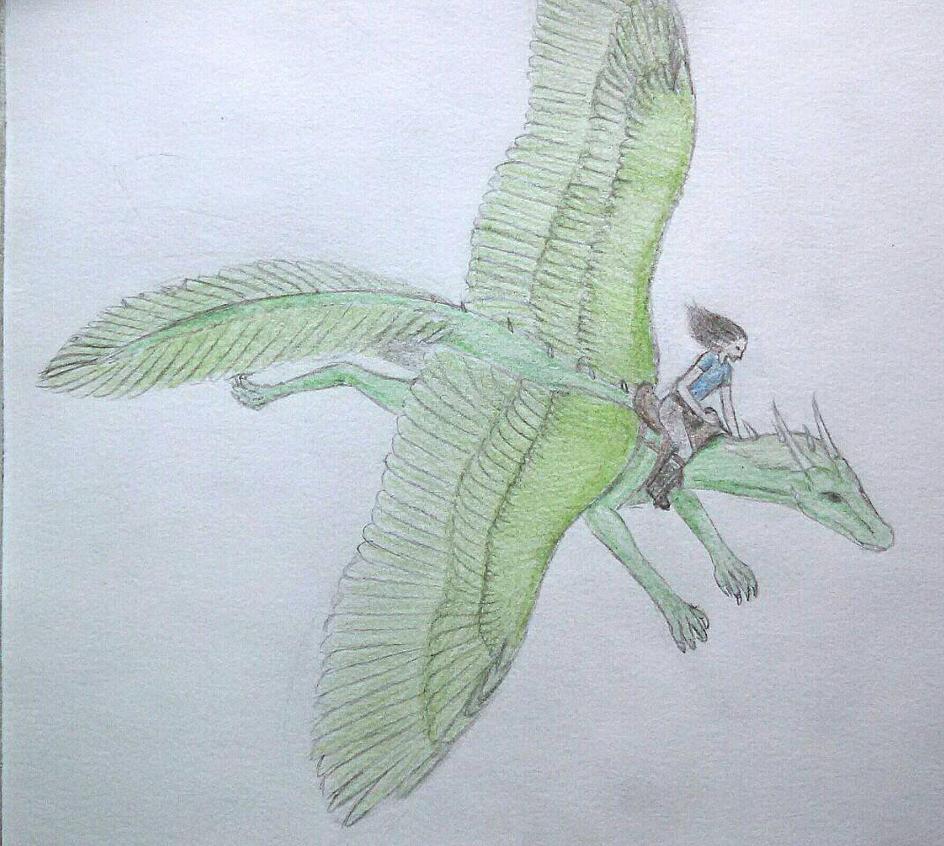 Malachite the Dragon by goldfinch63