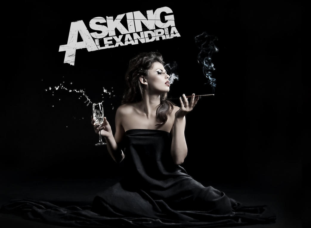 Asking Alexandria Wallpaper by Fried-Tomato