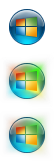 Windows 8 Aero Start Orb by Fried-Tomato
