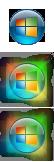 Windows 8 Aero Start Orb by Fried-Tomato