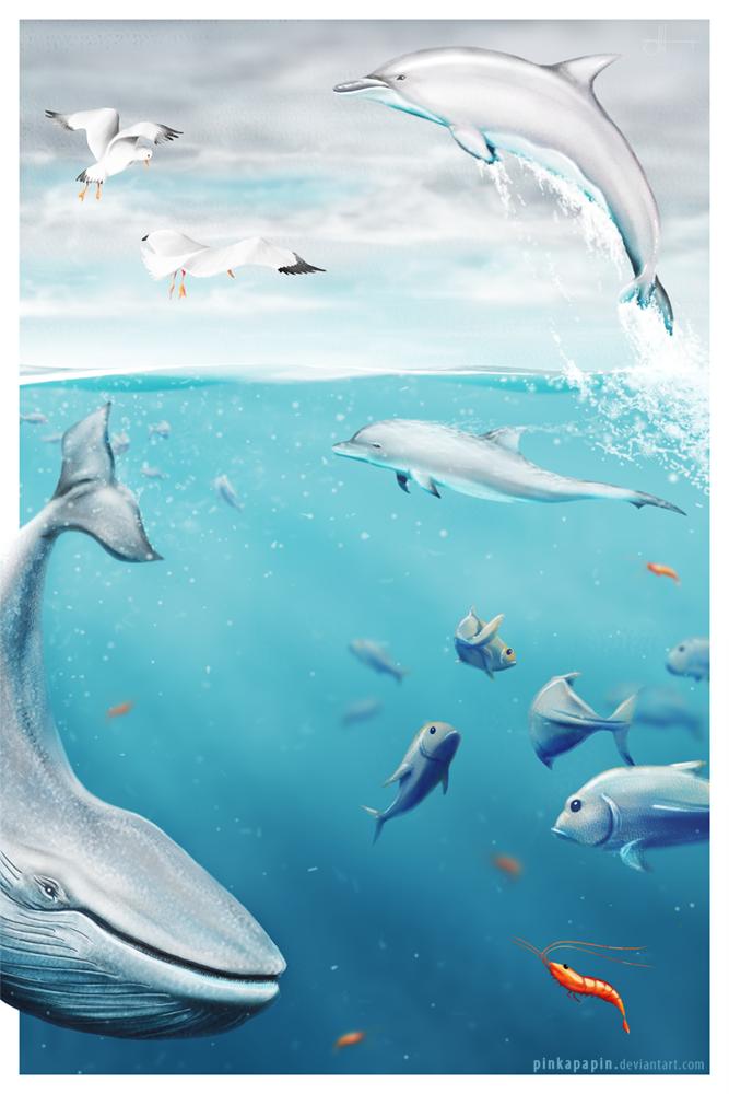 Big Ocean by pinkapapin