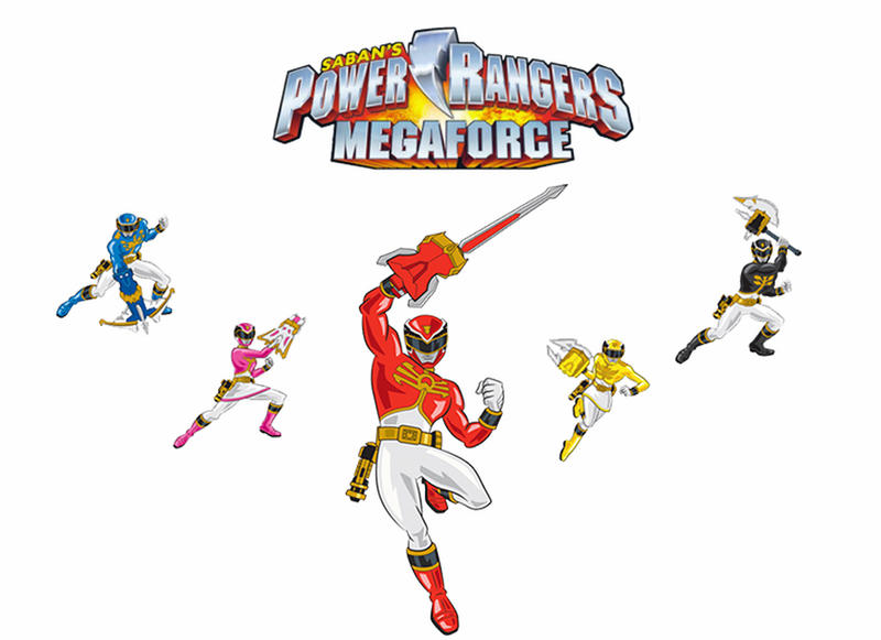 Cartoon Power Rangers Megaforce By Joeboytiger92 On Deviantart