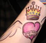 Winged and Crowned Heart
