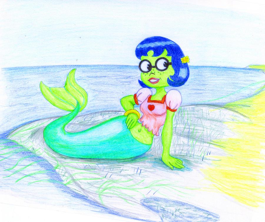mermaid the porn mindy squarepants Spongebob