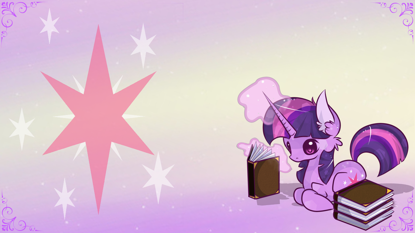 Free To Use.::.Twilight Sparkle Desktop by Sutexii