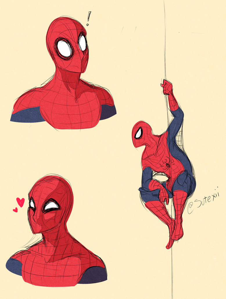 Piderman by Sutexii