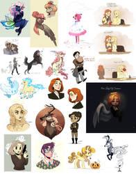 tumblr art dump