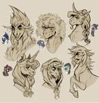 Ancient Horse Babies