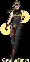 Captain Marvel, Redesigned v.1 by CavalierTunes