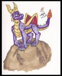 Spyro Marker doodle