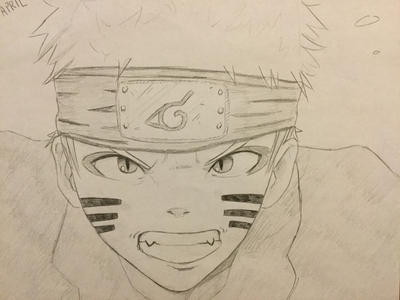 Naruto by gfds345