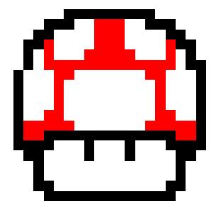 Mario Mushroom Pixel Art By Benjaminoon On Deviantart
