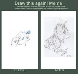 Before and After meme Scarlegs by Scarlegs