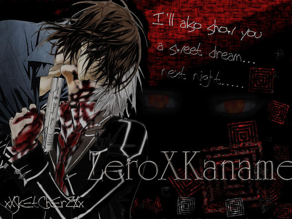 zero x kaname wallpaper by xxsketcherzxx on deviantart