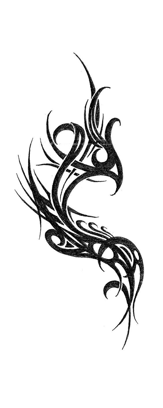 Phoenix Tattoo by NickJustus