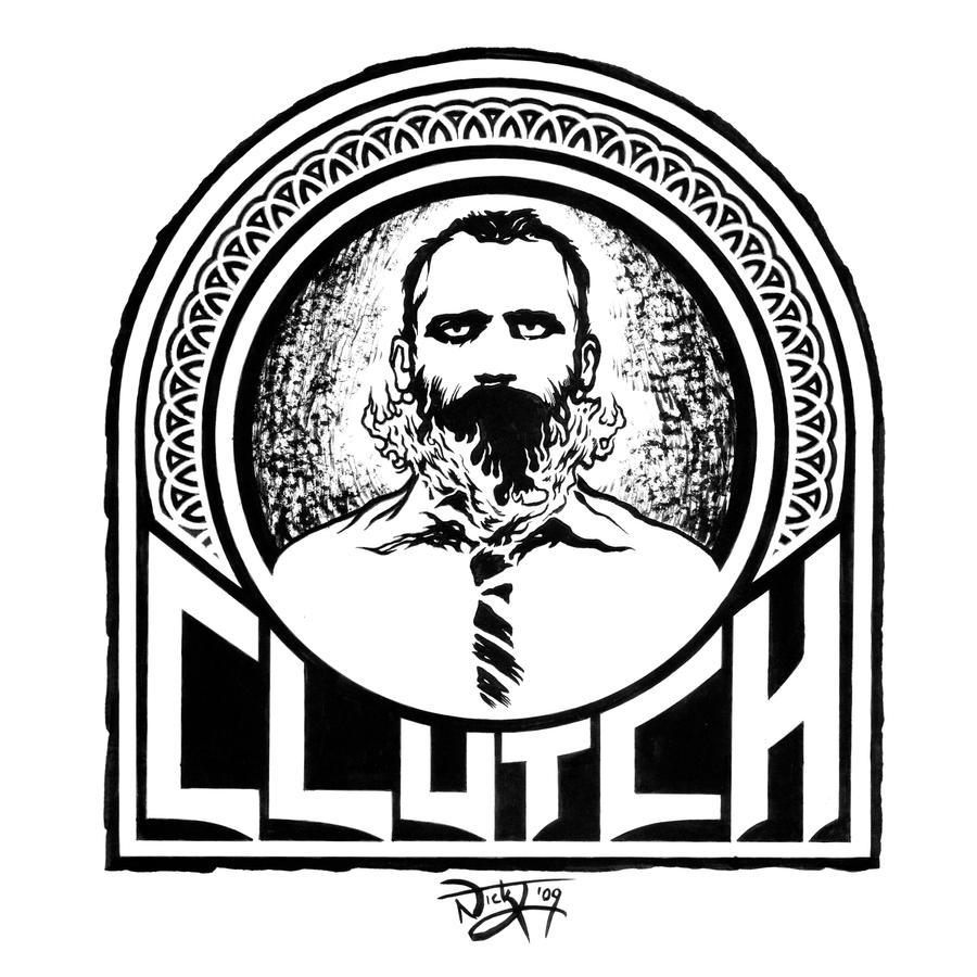 clutch burning beard