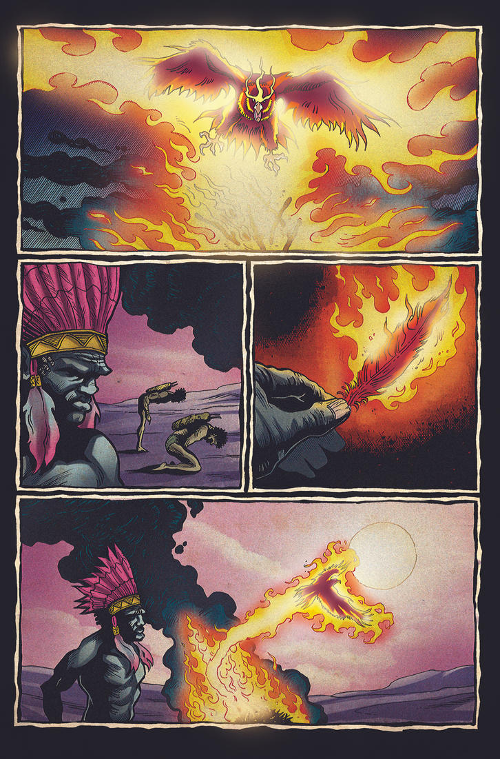 Savage Dragon For Fun pg8 by NickJustus