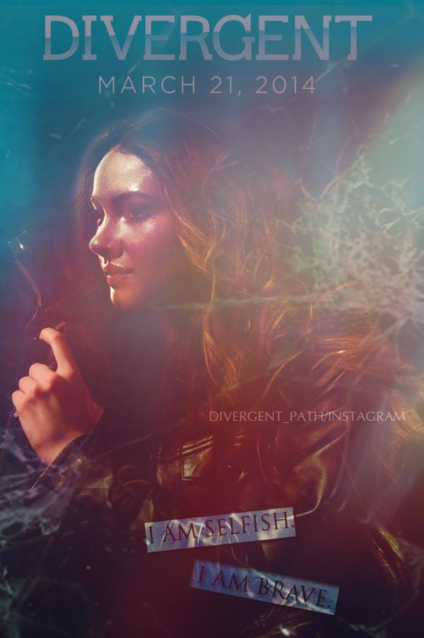 Divergent Movie Poster...